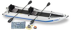 Sea Eagle 435PS Inflatable Paddleski/Catamaran/Kayak Pro Car