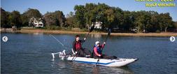 Sea Eagle 435ps Paddleski Cat/Kayak w/ Watersnake Venom Fres