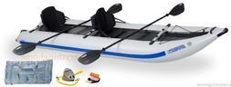 Sea Eagle 435PS Pro Paddleski Inflatable Catamaran Kayak Boa