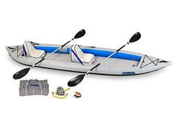 Sea Eagle 465 FastTrack Inflatable Kayak Deluxe 2 Person Pac