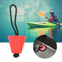 4Pieces Durable Green Silicone Kayak Canoe Scupper Plugs Dra