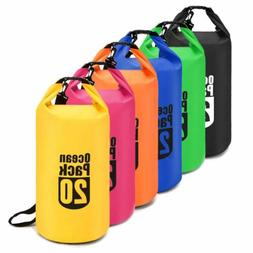 5L 10L PVC Waterproof Dry Bag Sack Canoe Swim Kayak Boating