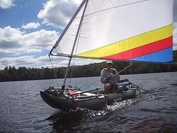 55 SF Sail Kit for Sea Eagle, Saturn Inflatable Kayaks