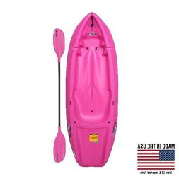 Lifetime, 6', 1-Man Wave, Youth Kayak,with Bonus Paddle,Blue