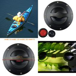"""6"""" Deck Plate Kit Hatch W Cat Bag For Kayak Boat Fishing FRE"""