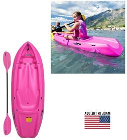 6' Youth Kids Kayak with Paddle Footrest Outdoor Water Sport