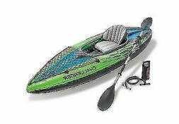 68305ep challenger k1 inflatable kayak with oar