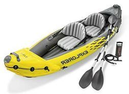 Intex 68307EP Explorer K2 2 Person, Yellow - Inflatable Kaya