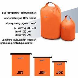 70L Water Resistant Waterproof Dry Bag Canoe Floating Boatin
