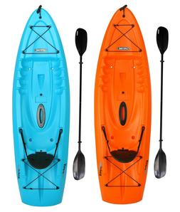 8 5 kayak with paddle sit on