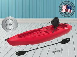 8 ft Kayak Sit On Top Fishing Lake River w Paddle SOT Canoe
