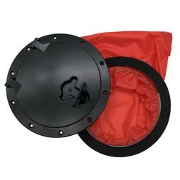 """8"""" Pull Out Hatch Cover Deck Plate & Bag Inspection Access f"""
