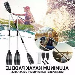 80 Inch kayak Paddle 2pc Detachable Assemble