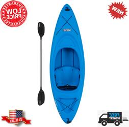 8ft. Pacer 80 Sit-In Kayak w/ Paddle - Blue - Brand New