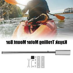 91cm Stainless Steel Kayak Trolling Motor Mount Bar with Har