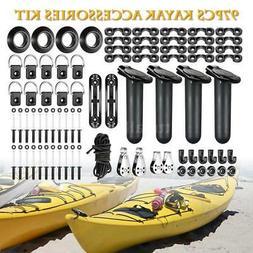 97pcs Kayak Canoe Boat Accessories Kit Fishing Rod Holder Mo