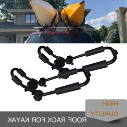 A Pair Universal Kayak Roof Rack For SUV/Car Top Mount Carri
