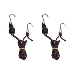 AA Products Ratchet Kayak and Canoe Bow and Stern Tie Down S