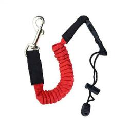 WDAM Adjustable Bungee Leash Strap Kayak Paddle Leashes with