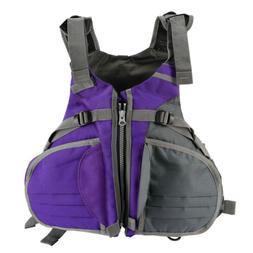 Adjustable Size Life Jacket Vest for Boat Buoyancy Aid Saili
