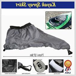 Adjustable Waterproof Kayak Spray Skirt Deck Sprayskirt Cove