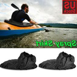 adjustable waterproof nylon kayak spray skirt cover