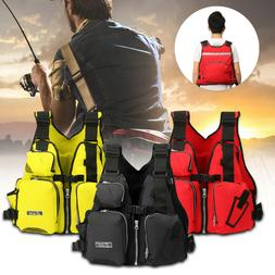 Adult Aid Life Jacket Kayak Water Safety Vest Fishing Surfin