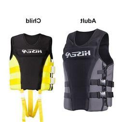 Adult Kid Life Vest Surfing Motorboat Kayak Jacket Swimming