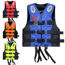 Adults Rescue Life Jacket Swimming Fishing Floating Kayak Bu