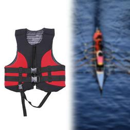 Adults Swimming Life Jacket Vest Safety Kayak Ski Neoprene A
