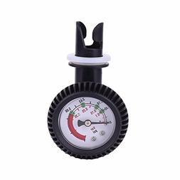 Fovolat Air Pressure Gauge Barometer for Inflatable Boat Kay