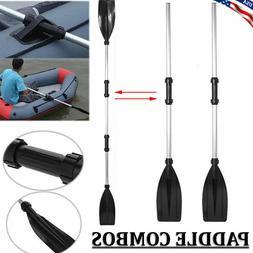 Aluminum Double-Ended Detachable Afloat Oars Paddles Boat Ka