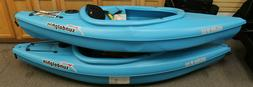 Sun Dolphin Aruba 8' SS Sit-In Kayak, Paddle Included *NEW*
