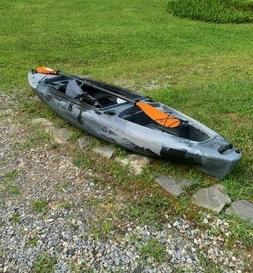 ASCEND FS10 Sit-In Angler Camo Kayak