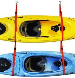Auto Racks Sling Two Double Kayak Storage System Wall Ceilin