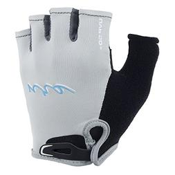 NRS Boaters Glove - Womens Light Gray/Black, XL