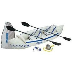 Sea Eagle Boats SE330K-P SE330 Sport Kayak Pro Package
