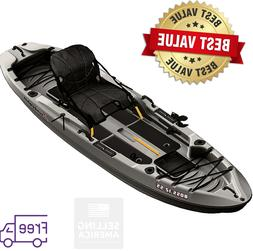 Sun Dolphin Boss 12' Ft SS Sit-On Top/Stand-Up Angler Kayak