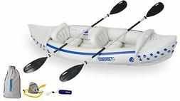 Brand New Sea Eagle 330 Inflatable Kayak with Deluxe Package