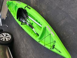 Brand new sundolphin kayak with paddles 10.5 feet long, for