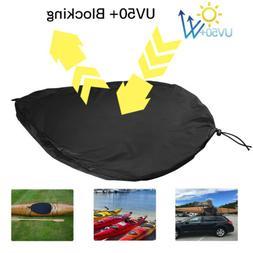 Kayak Cockpit Cover Protector Breathable Adjustable UV50+ Bl