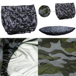 Camouflage Kayak Cover For 12.1 13.2Ft Kayak/Fishing Boat/Bo