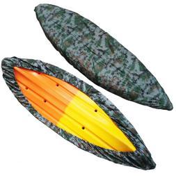 Durable Kayak Cover Canoe Boat Waterproof UV Resistant Dust