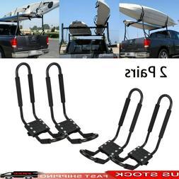 Pair Field /& Stream J Kayak Roof Rack Car SUV Truck Top Mount Carrier Cradle
