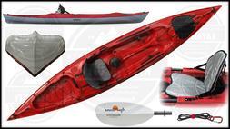Eddyline Caribbean 14 Lightweight Kayak w/FREE Fiberglass Pa