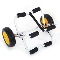 Bend Kayak Canoe Boat Carrier Dolly Trailer Trolley Transpor