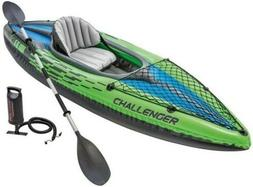 🔥 Intex Challenger K1 Inflatable Kayak with Oar and Hand