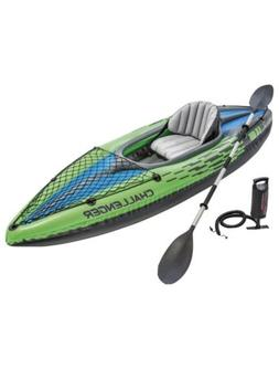 Intex Challenger K1 Inflatable Kayak with Oar and Pump **IN