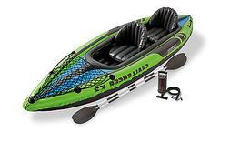 Intex Challenger K2 Kayak Kit, No Net