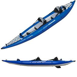 Aquaglide Chelan Two HB Inflatable Kayak-Blue/White